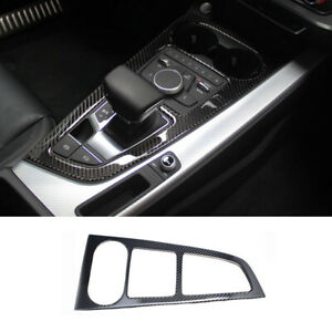 F5 Car Rear Seat Air Outlet Matte Silver Cover For Audi A4 Accessories A5 B9
