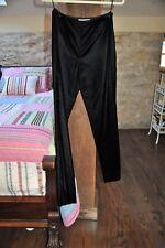 Worth New York - Women's Black Velvet Pants - Side Zip - Lined - Size 2