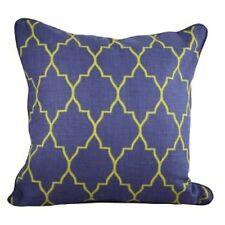One Duck Two Zanzibar blue and green cushion cover 45x45