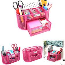 New Listingeasypag Desk Organizer Mesh Desktop Office Supplies Multi Functional Caddy Pe