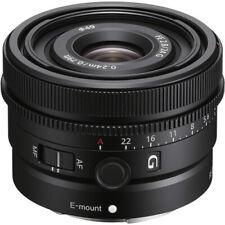 New Sony FE 24mm f/2.8 G Lens SEL24F28G