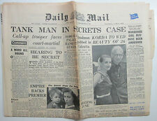 June 4 1953 Daily Mail Queen Elizabeth QE II post-Coronation original newspaper