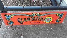 Carnival Gremlin/Sega Plexiglass Marquee video Game Sign