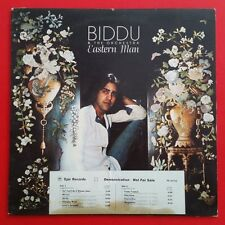 BIDDU Eastern Man LP Vinyl VG+ Cover VG+ Demo White Label 1977 Epic PE 34723