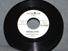 "VG+ CHUCK BERNARD ""Indian Giver/Dial My Number"" 45 SATELLITE No. Soul HEAR Mp3"