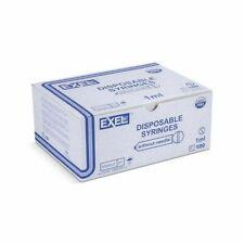 Exel 1ml 1cc Luer Slip Tb Syringe 100box 26048