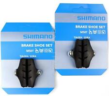 2 Packs Genuine Shimano M50T Road Bike Caliper Brake Shoes Pads fits Tiagra Sora