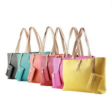 Women PU Leather Tote Shoulder Bags Hobo Handbags Satchel Messenger bag Purse GT