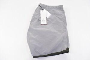 C.P. (CP) Company NWT Beachwear Boxer Swim Suit Size 48 S US In Gray & Green