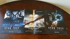 "Star Trek ""The Future Begins"" 2010 and ""Into the Darkness"" 2014 Movie Calenders"