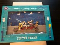 Disney D23 2019 Expo Mickey Tandem Bicycle Dapper Collection Jumbo Pin LE 500