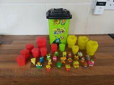 The Trash Pack bundle of 21 figures including large storage wheelie bin