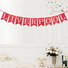 LIVERPOOL Banner Football Club Red Flags Bunting Party Decoration 2.5M
