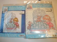 Tobin Bedtime Prayer Girl Quilt Stamped Cross Stitch Kit 36 by 43-inch 371288