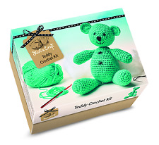 House of crafts faire votre propre crochet teddy bear starter craft kit cadeau SC040