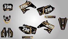 TM MX 125-250-300-400 TORNADO STYLE graphics kit 2004 / 2007 - stickers decals