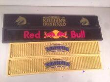 Red Bull Killian's Red Twisted Tea BEER BAR RAIL SPILL MAT