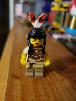 LEGO Series 15 Indian Tribal Woman  & Papoose Mini Figure Minifigure Authentic