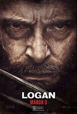 Logan Movie Poster (24x36) - Wolverine, Hugh Jackman, Doris Morgado v4