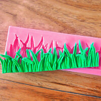 Silicone Mould Grass Fondant Cake Mold Chocolate Clay Lace-Pastry Sugarcraf Q6X2