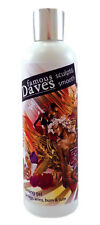 FAMOUS DAVE'S SCULPT & SMOOTH FIRMING ANTI CELLULITE GEL, LEGS, ARMS, BUMS, TUMS