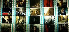 WORLD WAR Z zombies Lot of 12 Film Cells Collection compliments movie dvd poster