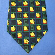 Winnie the Pooh Polyester Mens Neck Tie by Exquisite Apparel Made in Korea