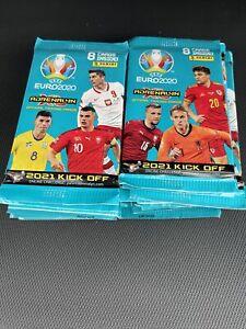 PANINI UEFA EURO 2020 ADRENALYN XL  CARD PACKS 2021 KICK OFF UEFA EURO ×25 packs