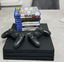 PS4 Pro (Used) Black 1TB Console | 2 X Controller