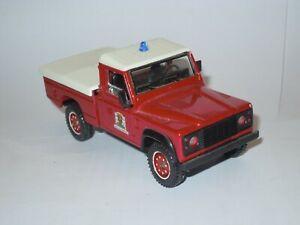 Solido 1/43 Land Rover Defender 4x4 voiture model car Sapeur Pompiers Fire