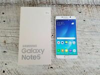 Samsung Galaxy Note 5 | T-Mobile | Factory Unlocked | Grade B | White Pearl |