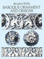 NEW Baroque Ornament And Design by Jacques Stella BOOK (Paperback) FREE Postage