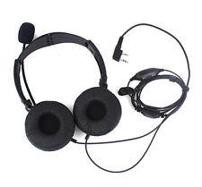 2 PIN pliant Casque micro écouteur pour Baofeng KENWOOD PUXING WOUXUN/PUXING