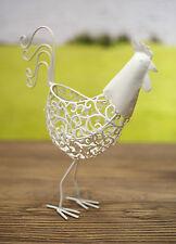 Country Chook Bowl Metal Art Home Decor Gift Homewares 30cms BRAND NEW