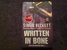 Written in Bone By Simon Beckett  Book