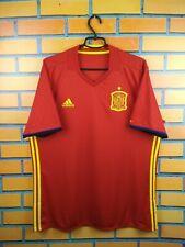 Spain soccer jersey XL 2016 2017 home shirt AI4411 football Adidas