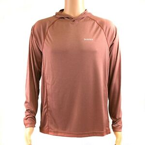SIMMS SolarFlex Hoody - Color Rusty Red Heather - M L XL - ON SALE NOW!
