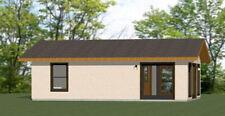 30x20 House -- 2 Bedroom 1 Bath -- 600 sq ft -- PDF Floor Plan -- Model 1A