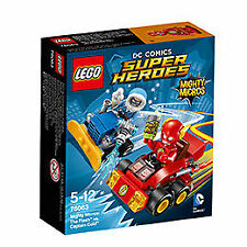 LEGO® Super Heroes Mighty Micros The Flash vs. Captain Cold (76063) NEU NEW MISB