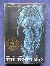 THE TENTH MAN by PADDY CHAYEFSKY Lou Jacobi & Jack Gilford Broadway Play 1st Ed.