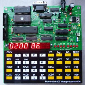 6802 Microprocessor Kit