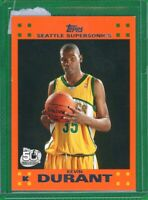 2007-08 Basketball Topps Kevin Durant Rookie Orange SP RC Invest Now