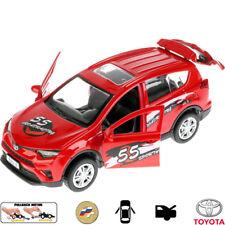 Diecast Metal Model Car Toyota RAV4 Sport Toy Die-cast Cars