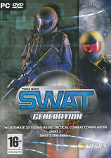 SWAT GENERATION 2 + 3 Elite Edition PC Games NEW in BOX