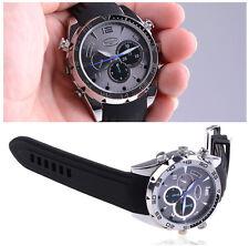 Spy Hidden HD Wrist Watch Camera IR Night Vision Watch DVR Cam Chargeable 32GB