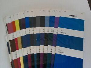 Yamaha Motorcycle Colours  Solvent Basecoat  Tin/Aerosol  Select Colour