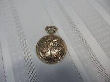 Vintage! Remington Quartzarama Corona Pocket Watch One Jewel Made In Hong Kong