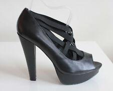 ALDO Women's 100% Leather Slim High Heel (3-4.5 in.) Shoes