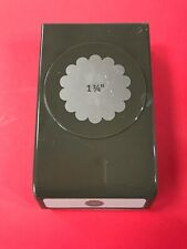Stampin Up 1 3/4 Inch Scalloped Circle Punch Lock Down New Style