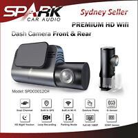 AD Car Dash Camera Recorder Front Rear FHD 1080P Wifi Dual 2CH Parking Mode 64GB